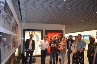 v.l.n.r.:  Jens Böhm, Stadtwerke München, Dominik Fahr, Architekt bei Auer+Weber und Helmut Guggenbichler, Head of Lighting Design bei Bartenbach