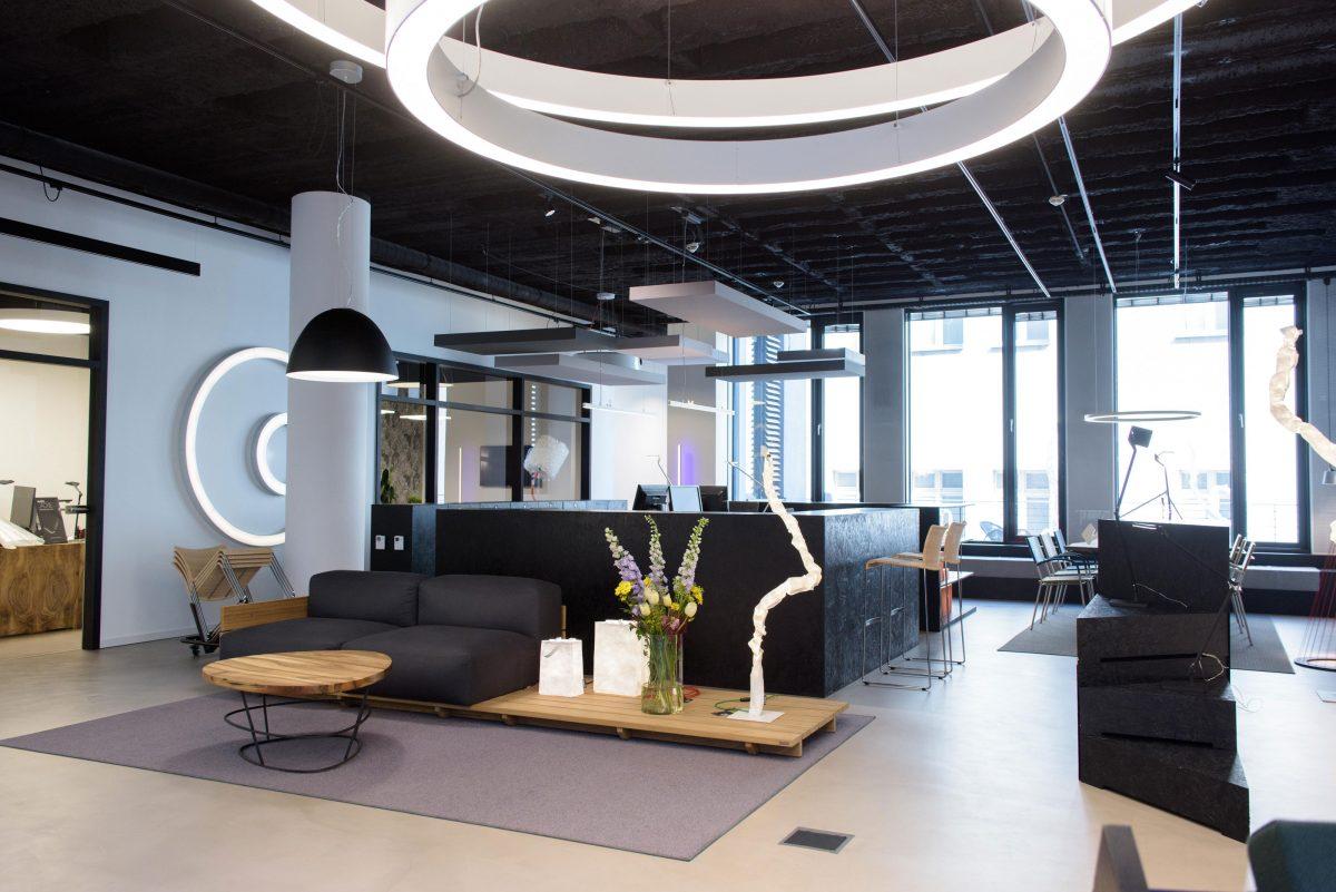 Panzeri & Partners Showroom im Karl³ – Das Designloft am Stachus ...